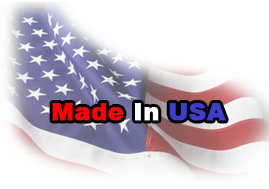 Equipment proudly made in the USA